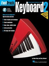 FastTrack Keyboard Method Book 2 Music Instruction Book and Audio NEW 000697293