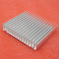 100x100x18mm Aluminum HeatSink for Chip CPU LED IC radiator, COOLER Cooling