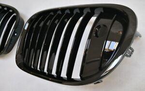 GRILL KÜHLERGRILL BMW F01 F02 F03 F04 7er SCHWARZ GLÄNZEND LACKIERT NIGHT VISION