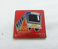 Metroadeo 2002 king county buses competition pin brooch badge transportation