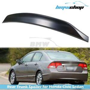 06-11 Fit For Honda Civic 8th FA FD Acura CSX Sedan Spoiler DTO Style Unpainted