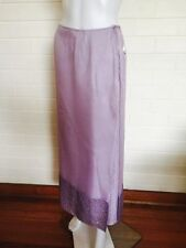 Viscose A-Line Dry-clean Only Skirts for Women
