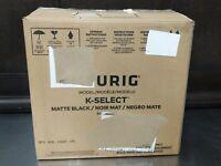 Keurig K-Select K80 Single Serve K-Cup Pod Coffee Maker. Matte Black