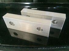 """6x2x1"""" Kurt Vise Jaws Aluminum Jaws Fit Kurt 6"""" Vises Free Shipping 4 set"""
