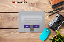 SNES console Mouse Pad Non-Slip Computer Gaming Laptop PC Retro Old School New