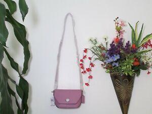 NWT Coach Pebble Leather Karlee Crossbody Bag C2815 Violet Orchid, Black, Chalk