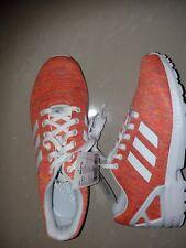 Adidas ZX Flux Naranja Zapatos UK 8.5 UE 42 & 2/3 BNWT P/c bb2772