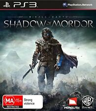 Middle Earth Shadow Of Mordor Lord Of The Rings Game For Sony Playstation 3 PS3