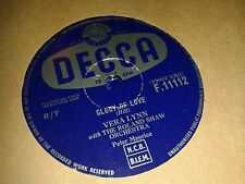 VERA LYNN : GLORY OF LOVE / WALK WITH FAITH IN YOUR HEART.  UK.78rpm (1959)