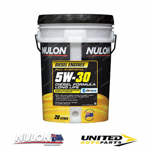 NULON Full Synthetic 5W30 Diesel Formula Long Life Engine Oil 20L for VOLVO XC60