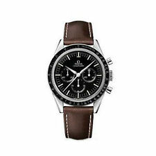 Omega Speedmaster Moonwatch Chronograph Men's Wristwatch (311.32.40.30.01.001) - Brown