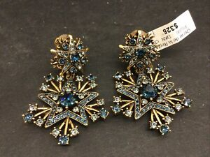 35Pair Fashion Rhinestone Earrings For Women Drop Faceted Crystal Stone Dangle Earrings Charm Jewelry