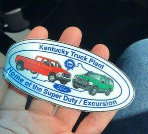 Kentucky Truck Plant WindshieldDecalSticker Ford Super Duty KTP