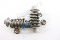 """Genuine 2.5"""" Exhaust Cat Bolts & Springs Fits Subaru Impreza Forester Legacy"""