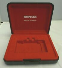 Minox Film Camera Large Display Case/Box with Red Felt Interior