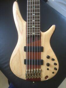 Ibanez SR1306 Premium 6 String Bass Bartolini USA pickups