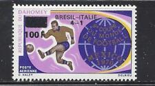 DAHOMEY (REP) - C126 - MH -1970 -BRAZIL'S VICTORY-9TH WORLD SOCCER CHAMPIONSHIPS