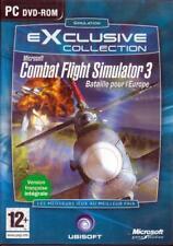 JEU PC DVD ROM../...COMBAT FLIGHT SIMULATOR....BATAILLE POUR L'EUROPE..