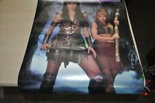 More details for xena warrior princess poster 3d foiled embossed (rare) xena & gabrielle