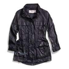 Coach Womens Jacket LightWeight Field Parka Black S F84569 $348