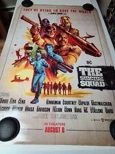 Movie Poster 27x40 double sided The Suicide Squad 2021 MINT DC COMICS