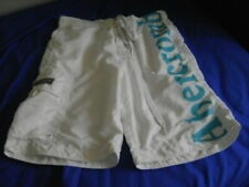 Abercrombie & Fitch New York White Shorts XL Sailors Swimming
