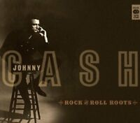 Johnny Cash-Rock & Roll Roots CD Double CD  Very Good