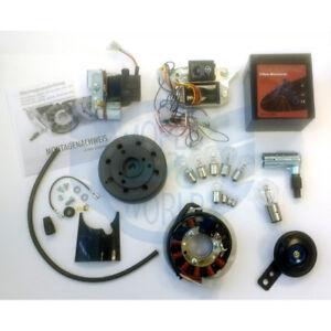 VAPE 3 MGV Zündung Gel Akku Lichtmaschine 12V Simson S50 S51 S70 Set Hupe 105dB