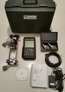 GE Panametrics PT878 Portable Liquid Ultrasonic Flowmeter Transport PT 878