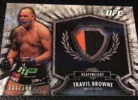 Travis Browne UFC 2012 Topps Bloodline Fighter Relics#FR-TB  135/188