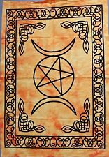 Star Moon Beautiful Design Wall Hanging Small Tapestry Poster Cotton Hippie Art