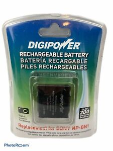 Digipower Rechargeable Battery Replacement for Camera Sony® NP-BN1 600mAh 3.7 V