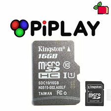 PiPLAY (Pimame) Preinstalled 16GB Class10 SD Card Preloaded for Raspberry Pi