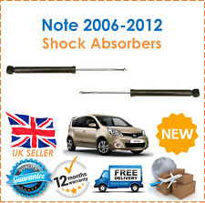 For Nissan Note E11, NE11 2006-2012 Two Rear Gas Shock Absorbers Set Pair x2 New