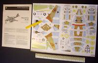 Messerschmitt Me262 Jet. 1960s/70s JFS Schreiber Cut-out Card Kit 1:50 Scale