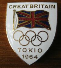1964 Tokyo Olympic Games - GB NOC Badge