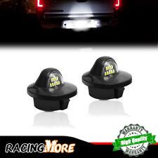 2pc License Plate Lights Error Free White LED For Ford F-150 Ranger Explorer etc