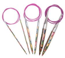 "KnitPro Symfonie Wood Fixed Circular Knitting Needles - 80cm 32"" Knitters Pride"