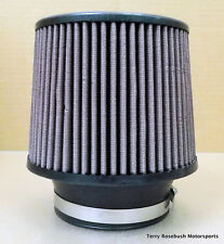 "Spectra Cone Air Cleaner, 6-1/2"" Dia, 7.0"" Tall, 4.0"" ID, Washable Element,"