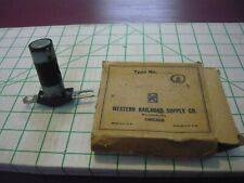 Western Railroad Supply Company box with unknown component ROUGH