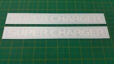 Toyota TRD Supercharged Supercharger Decals stickers OEM size MR2 Celica GT Four