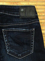 Silver Jeans AIKO SKINNY Leg Mid Rise Slim Curvy Fit Stretch W24xL31 SAF494