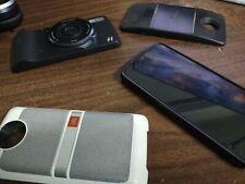 New listing Used Motorola Moto Z4 Frost White 128Gb Verizon with projector camera speaker