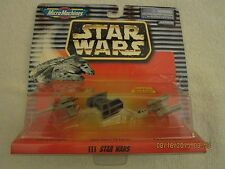 Star Wars MM Collection XII-Battle Damaged Tie Fighter, X & Y Starfighters