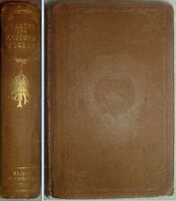 THE COMPLETE ANGLER or The Contemplative Mans Recreation by Walton & Cotton 1844