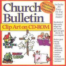 USED (VG) Church Bulletin Clip Art by Gospel Light Publications