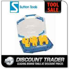 Sutton 9 Piece Carpenter's Multi-Purpose Hole Saw Kit TCT H111 - H111009C