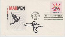 Signed January Jones Fdc Autographed First Day Cover Mad Men