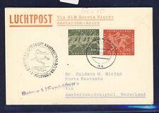 46669) KLM FF Amsterdam - Accra Ghana 1.11.60, Karte ab BRD