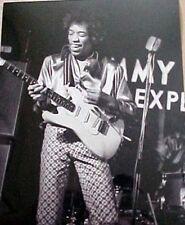 Jimi Hendrix 8 X 10 Black & White Photograph